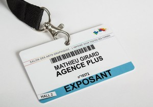 Badge pvc